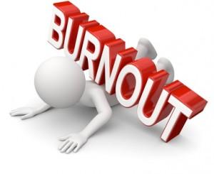 Ein Burnout entwickelt sich meistens schleichend!
